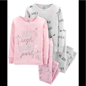 Carter's Ballerina Dance Pajamas 4-piece